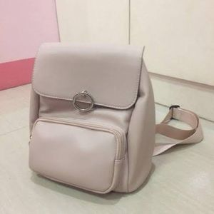BRAND NEW Nude Pink Small Backpack